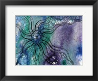 Framed Aqua Life 1