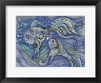 Aqua Life 2 Framed Print