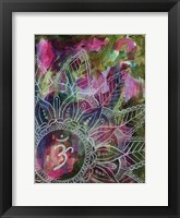 Radiant Ohm Framed Print