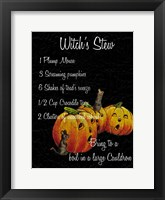 Framed Witch's Stew