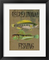 Fishing Trip 2 Framed Print