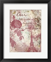 Marsala Rose In My Garden Framed Print