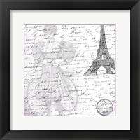 Parisian Woman Framed Print