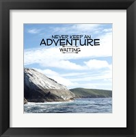 Call Of The Adventure Framed Print