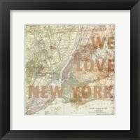 New York City Framed Print