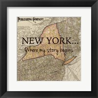 Framed New York My Story