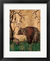 Framed Mama Bear