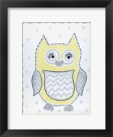 Framed Gray Owl