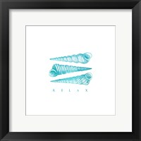 Relax Shells Framed Print