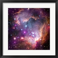 """Framed Taken Under the """"Wing"""" of the Small Magellanic Cloud"""
