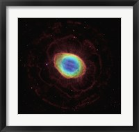 Framed Hubble Reveals the Ring Nebula's True Shape