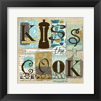 Framed Kiss the Cook