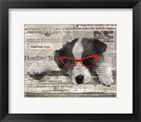 Howling Success Framed Print