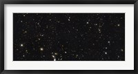 Framed Panoramic view of over 7,500 Galaxies Stretching back Through Most of the Universe's History