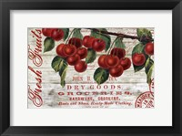 Framed Cherries I