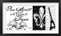 Bon Appetit Framed Print