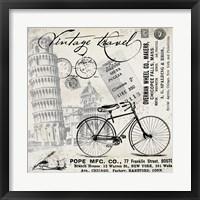Framed Vintage Travel Italia I