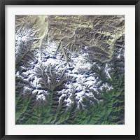 Framed Mount Everest