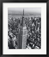 Framed Empire State Building 1