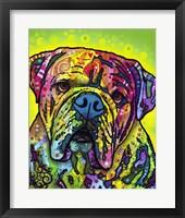 Framed Hey Bulldog