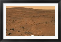 Framed Partial Seminole Panorama of Mars