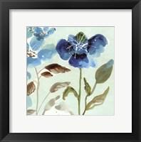 Blue Garden I Framed Print