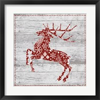 Xmas Sign II Framed Print