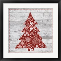 Xmas Sign III Framed Print