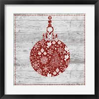 Xmas Sign IV Framed Print