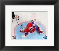 Framed Carey Price 2014-15 Action
