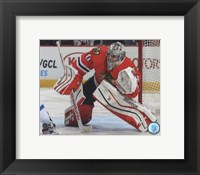 Framed Corey Crawford 2014-15 Action