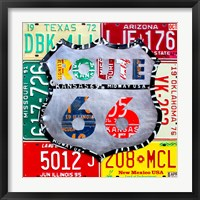 Framed Route 66 Edition 3