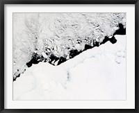 Framed East Antarctica's Prince Olav Coast