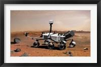 Framed Mars Science Laboratory