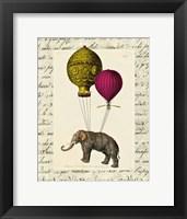Elephant Ride II Framed Print