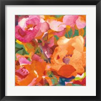 Framed Wild Beach Roses IV