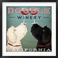 Framed Doodle Wine