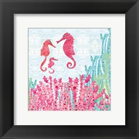 Framed Seahorses