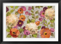 Framed Hydrangeas and Anemones