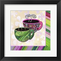 Tea Party II Framed Print