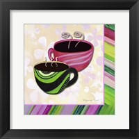 Tea Party III Framed Print