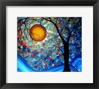 Framed Blue Essence