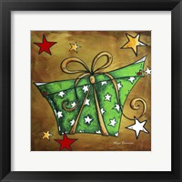 Framed Green Stars Present