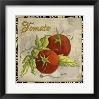 Vegetables 1 Tomatoes Framed Print