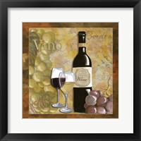 Wine 9 Framed Print