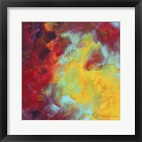 Colors Of Glory I Framed Print
