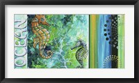 Ocean Sea of Whimsy Framed Print