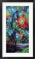 Under The Light Of The Blue Moon II Framed Print