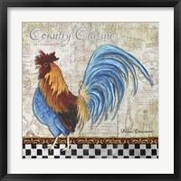 Country Cuisine Framed Print
