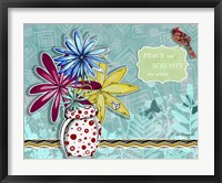 Flower Pot 10 Framed Print